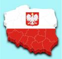 Mapa Polski - województwa